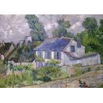 Puzzle  Grafika-Kids-00220 Pièces Magnétiques - Van Gogh Vincent : Maison à Auvers, 1890