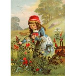 Puzzle  Grafika-Kids-00234 Pièces Magnétiques - Le Petit Chaperon Rouge, illustration par Carl Offterdinger