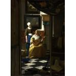 Puzzle  Grafika-Kids-00251 Pièces Magnétiques - Vermeer Johannes : La lettre d'amour, 1669-1670