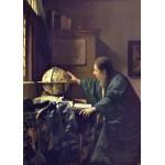 Puzzle  Grafika-Kids-00252 Pièces Magnétiques - Vermeer Johannes : L'Astronome, 1668