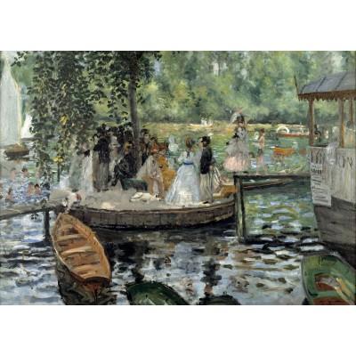 Puzzle Grafika-Kids-00258 Pièces Magnétiques - Auguste Renoir : La Grenouillère, 1869