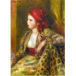 Puzzle  Grafika-Kids-00262 Pièces Magnétiques - Renoir Auguste : Odalisque, 1895
