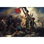 Puzzle  Grafika-Kids-00285 Pièces XXL - Delacroix Eugène : La Liberté Guidant le Peuple, 1830