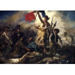 Puzzle  Grafika-Kids-00286 Delacroix Eugène : La Liberté Guidant le Peuple, 1830