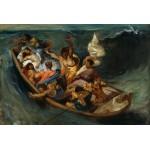 Puzzle  Grafika-Kids-00291 Delacroix Eugène : Christ sur la Mer de Galilée, 1841