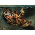 Puzzle  Grafika-Kids-00292 Pièces Magnétiques - Delacroix Eugène : Christ sur la Mer de Galilée, 1841