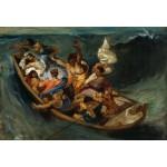 Puzzle  Grafika-Kids-00294 Pièces XXL - Delacroix Eugène : Christ sur la Mer de Galilée, 1841