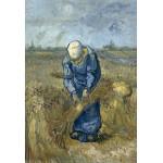 Puzzle  Grafika-Kids-00302 Pièces XXL - Vincent Van Gogh: Femme Paysan d'après Millet