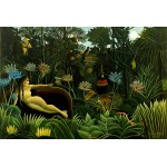 Puzzle  Grafika-Kids-00303 Henri Rousseau : The Dream, 1910