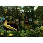 Puzzle  Grafika-Kids-00304 Pièces Magnétiques - Henri Rousseau : The Dream, 1910
