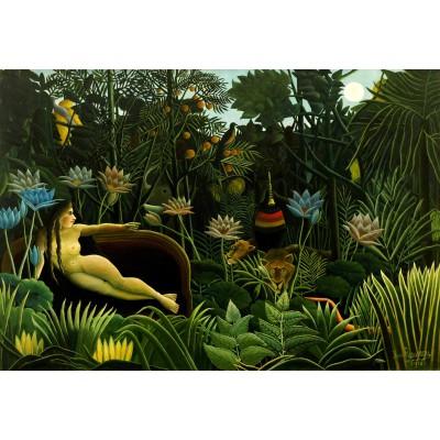 Puzzle Grafika-Kids-00306 Pièces XXL - Henri Rousseau : The Dream, 1910