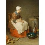 Puzzle  Grafika-Kids-00308 Jean Siméon Chardin : La Fille de Cuisine, 1738