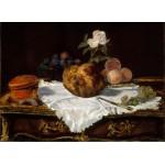 Puzzle  Grafika-Kids-00311 Edouard Manet : La Brioche, 1870