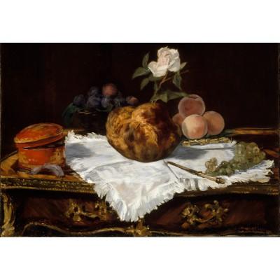 Puzzle Grafika-Kids-00312 Edouard Manet : La Brioche, 1870