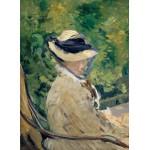 Puzzle  Grafika-Kids-00313 Edouard Manet : Madame Manet à Bellevue, 1880