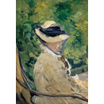 Puzzle  Grafika-Kids-00314 Edouard Manet : Madame Manet à Bellevue, 1880