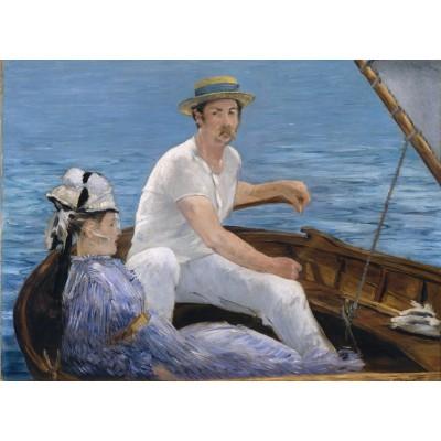 Puzzle Grafika-Kids-00315 Edouard Manet : En Bateau, 1874
