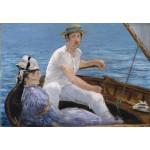 Puzzle  Grafika-Kids-00316 Edouard Manet : En Bateau, 1874