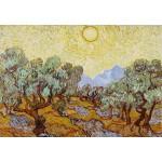 Puzzle  Grafika-Kids-00340 Vincent Van Gogh : Les Oliviers, 1889
