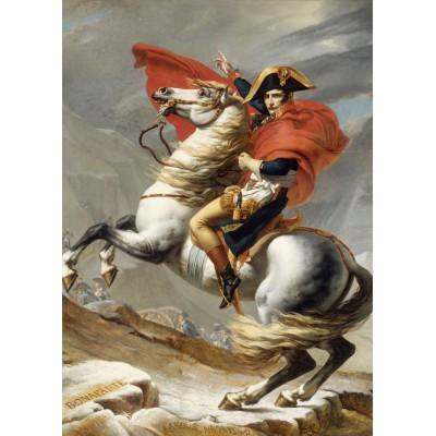 Puzzle Grafika-Kids-00351 Jacques-Louis David: Bonaparte franchissant le Grand Saint-Bernard, 20 mai 1800
