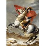 Puzzle  Grafika-Kids-00352 Pièces Magnétiques - Jacques-Louis David: Bonaparte franchissant le Grand Saint-Bernard, 20 mai 1800