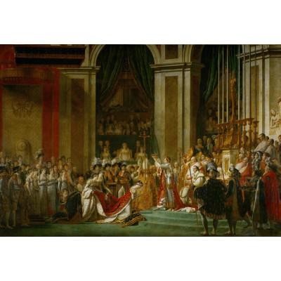 Puzzle Grafika-Kids-00378 Pièces XXL - Jacques-Louis David: Le Sacre de l'Empereur Napoléon 1er, 1805-1807