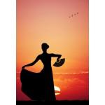 Puzzle  Grafika-Kids-00390 Flamenco at Sunset
