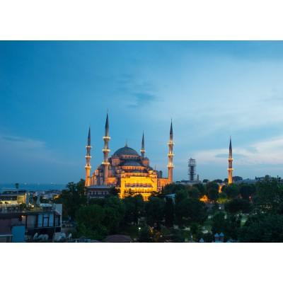 Puzzle Grafika-Kids-00407 Pièces Magnétiques - Mosquée Bleue, Turquie