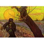 Puzzle  Grafika-Kids-00421 Pièces Magnétiques - Van Gogh Vincent : Le Semeur, 1888