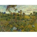 Puzzle  Grafika-Kids-00423 Van Gogh Vincent : Coucher de Soleil à Montmajour, 1888