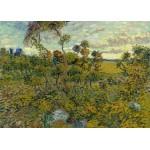 Puzzle  Grafika-Kids-00426 Pièces Magnétiques - Van Gogh Vincent : Coucher de Soleil à Montmajour, 1888