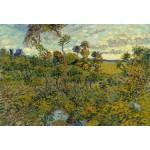 Puzzle  Grafika-Kids-00427 Pièces XXL - Van Gogh Vincent : Coucher de Soleil à Montmajour, 1888