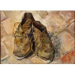 Puzzle  Grafika-Kids-00436 Pièces Magnétiques - Van Gogh Vincent : Chaussures, 1888