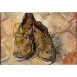 Puzzle  Grafika-Kids-00437 Pièces XXL - Van Gogh Vincent : Chaussures, 1888