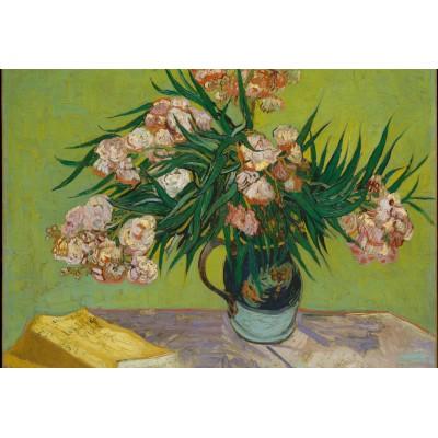 Puzzle Grafika-Kids-00442 Pièces XXL - Van Gogh Vincent : Lauriers Roses,1888
