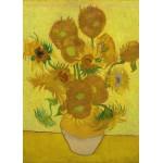 Puzzle  Grafika-Kids-00451 Pièces Magnétiques - Van Gogh Vincent : Les Tournesols, 1887