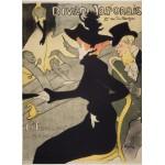 Puzzle  Grafika-Kids-00453 Henri de Toulouse-Lautrec: Divan Japonais, 1892-1893