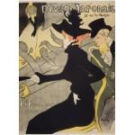 Puzzle  Grafika-Kids-00455 Pièces Magnétiques - Henri de Toulouse-Lautrec: Divan Japonais, 1892-1893