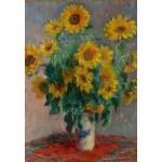 Puzzle  Grafika-Kids-00457 Claude Monet: Bouquet de Tournesols, 1881