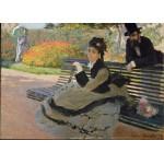 Puzzle  Grafika-Kids-00469 Pièces Magnétiques - Claude Monet: Camille Monet, 1873