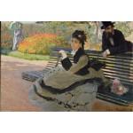 Puzzle  Grafika-Kids-00470 Pièces XXL - Claude Monet: Camille Monet, 1873