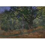 Puzzle  Grafika-Kids-00474 Pièces Magnétiques - Claude Monet: Fontainebleau, 1865