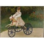 Puzzle  Grafika-Kids-00479 Pièces Magnétiques - Claude Monet: Jean Monet, 1872