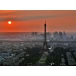 Puzzle  Grafika-Kids-00500 Coucher de Soleil sur Paris