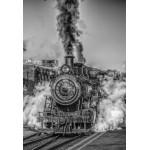 Puzzle  Grafika-Kids-00614 Pièces XXL - Locomotive à Vapeur