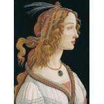 Puzzle  Grafika-Kids-00694 Sandro Botticelli: Portrait de Jeune Femme, 1494