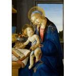 Puzzle  Grafika-Kids-00700 Pièces XXL - Sandro Botticelli: La Madone du Livre, 1480