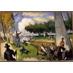 Puzzle  Grafika-Kids-00708 Paul Cézanne: Les Pêcheurs (Scène Fantastique), 1875