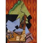 Puzzle  Grafika-Kids-00716 Juan Gris: Violon et Cartes à Jouer sur une Table, 1913