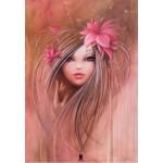 Puzzle  Grafika-Kids-00744 Misstigri : Sweet Pinky Girl